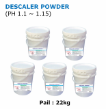 DESCALER POWDER Acidity powder cleaner for removing rust and scale