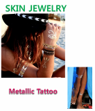 Metallic _ Fashion Tattoo_ Tattoo Sticker