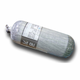 High pressure composite cylinder for SCBA