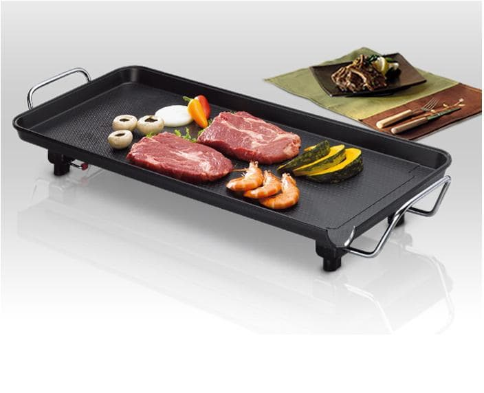 Wide Electric Grill