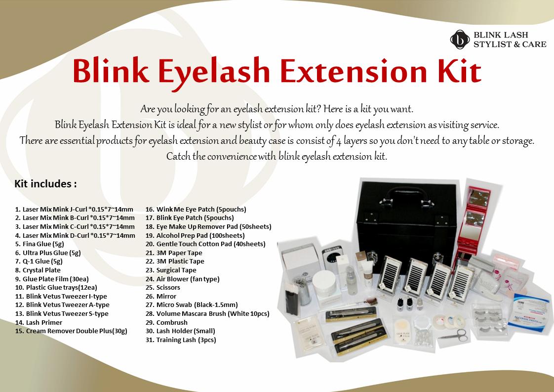 Blink Eyelash Extension Kit | tradekorea