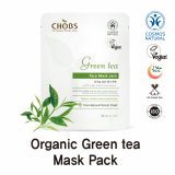 CHOBS Organic Green Tea Mask Pack