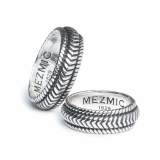 _MEZMIC_ 16SRI0690A_ Rope Couple Ring_925 Silver