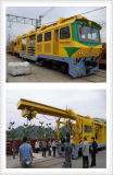 B2S(Ballasted Tow Slab) Track Machine