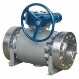 Forged trunnion mounted_fixed ball valve