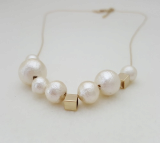 Fashion jewelry_ Fashion accessories_ pearl necklace_ neck