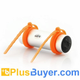 Waterproof MP3 Player (4GB, In-Ear Earphones, Arm Strap)