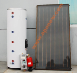 Flat Plate Type Solar Water Heating System