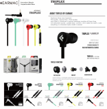 EARMAC TRIPLEX EARPHONE