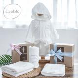 sobble bamboo baby robe