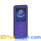 ONN Q9 - 1.8 Inch LCD MP3 + MP4 Player (4GB, FM Radio, Micro SD Card Slot)