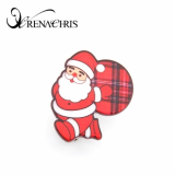 Christmas Santa Claus hair clamp- hair clip