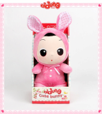 Lovely little girl plush toy