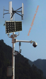 Vertical Axis Wind and Solar Hybrid CCTV System _Closed Circuit Television Monitoring and Surveilan_