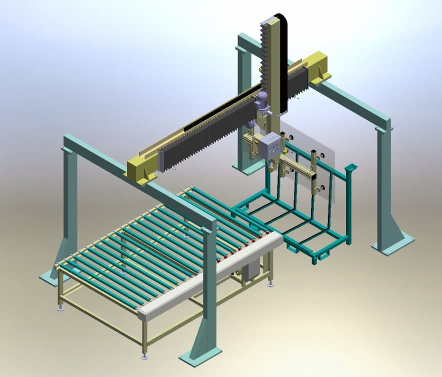 Automatic Glass Loading Machine