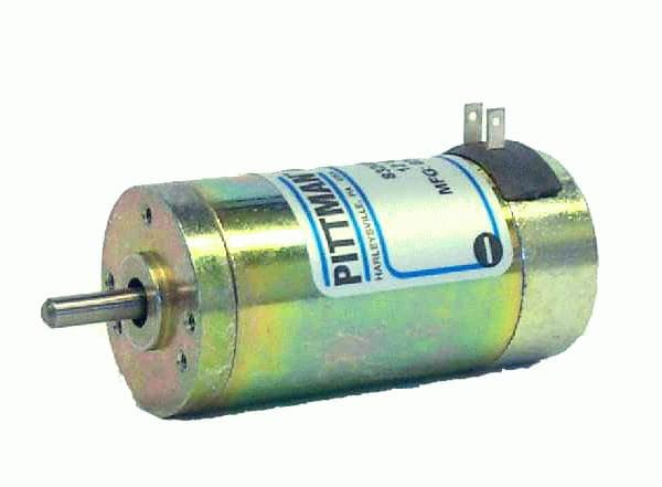 2 Pittman Lo Cog Brush Commutated Dc Motors From A S