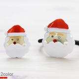 Christmas Santa Claus ponytail holder
