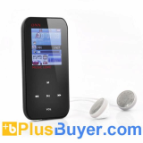 ONN Q2 1.5 Inch LCD MP3 + MP4 Player - 4GB