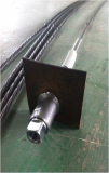 Injection head bulbed cable bolt