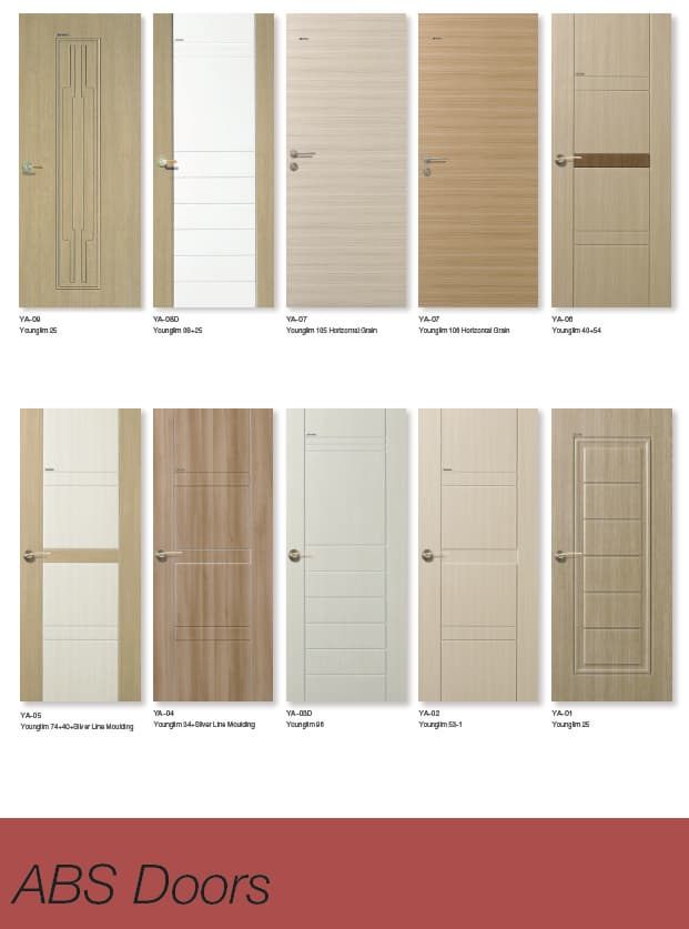 ABS Door & ABS Door from YOUNGLIM Forestry CO.LTD B2B marketplace portal ...