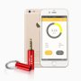 Smart Geiger Counter for Smartphone with App Android iOS