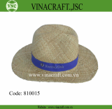 Straw man hat_ seagrass hat