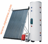Glass Vacuum Tubes Type Solar Water Heating System