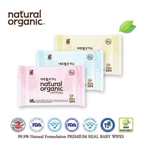 Natural Organic Baby Wipes Portable Tradekorea