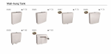 Wall_hung Tank_Cistern_For sanitary toilet