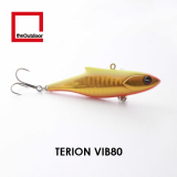 80mm Sinking Artificial Hard Bait Fishing Lure (Terion VIB 80)