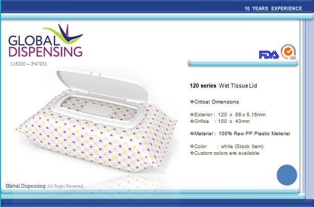 Wet Tissue Lid 11620047931120