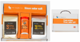 3years old  Korea natural sea salt- set