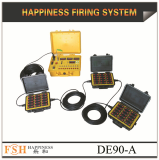 90 channels wire control fireworks firing system