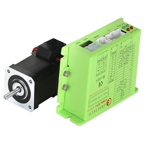 Closed loop stepping motor integrated driver and controller for Stepper motor integrated controller