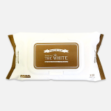 Premium babyrang wet wipes The white with cap _120count_