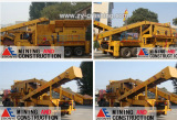 mobile crusher for concrete waste in Indonesia