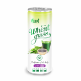 250ml Can Original Wheatgrass juice drink with Chia seed flavor