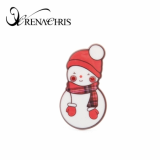 RenaChris Snowman hair clamp- hair clip