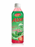 Aloe Vera Juice Drink With Strawberry Flavour