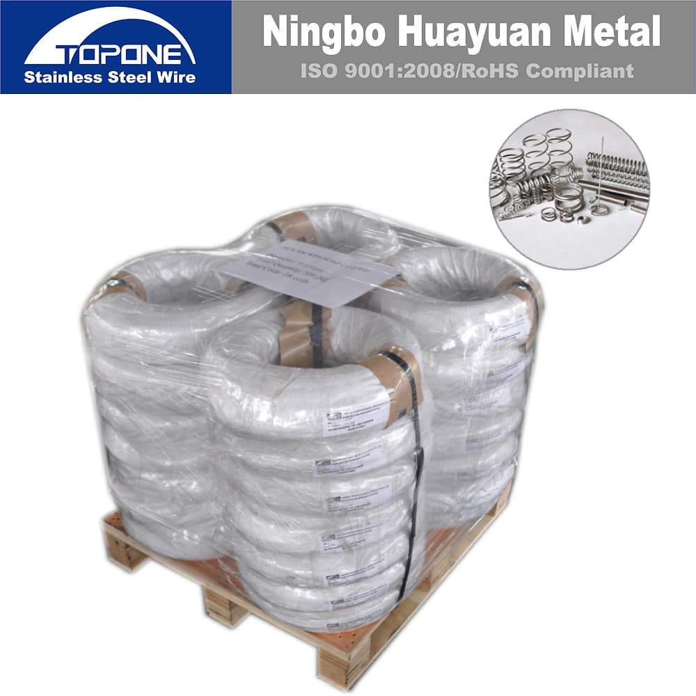 Topone Stainless Steel Spring Wire from Ningbo Huayuan Metal ...