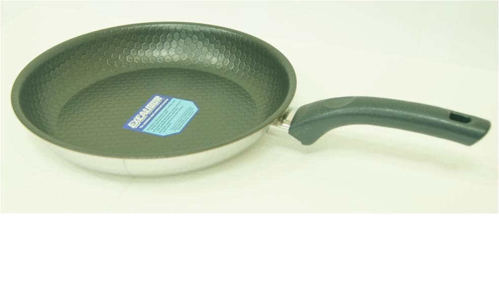 Excalibur Coated Fry Pan _3 Ply Clad_
