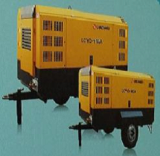 Portable screw air compressor
