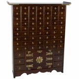 Korean Double Cabinet Design Scholar-s Chest