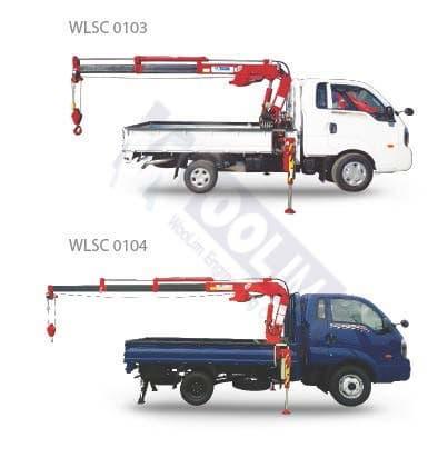 small cargo crane_ crane_ truck crane