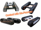 Rubber crawler track undercarriage for sale