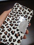 Enamel Mobile Phone Wallet Case Cover