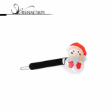 Christmas -x-mas- Snowman P point hairpin