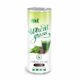 250ml Can Original Wheatgrass juice drink with Coffee flavor