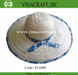 Bamboo hat with nice brim