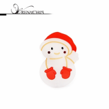 Christmas -x-mas- Snowman point hairpin